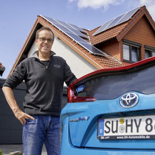 Toyota Fahrer Ralf Schäfer