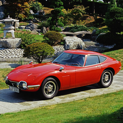 Toyota 2000GT rot