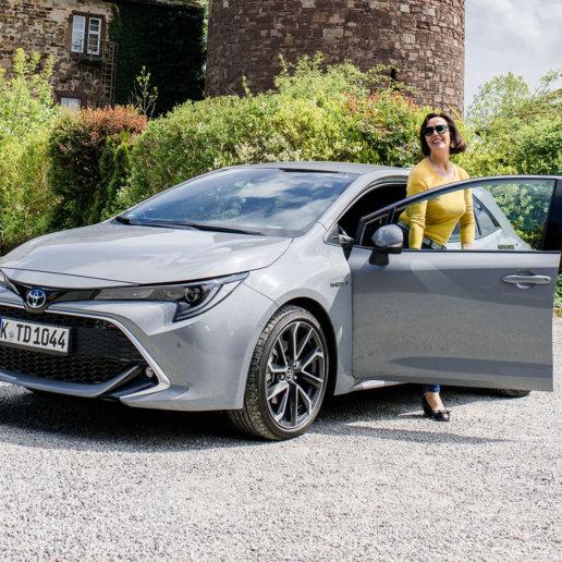 Toyota Corolla Hybrid Deutsche Märchenstraße