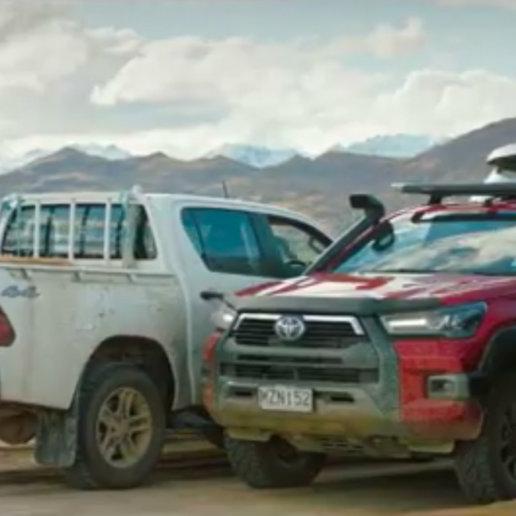 Toyota Hilux Werbespot Neuseeland