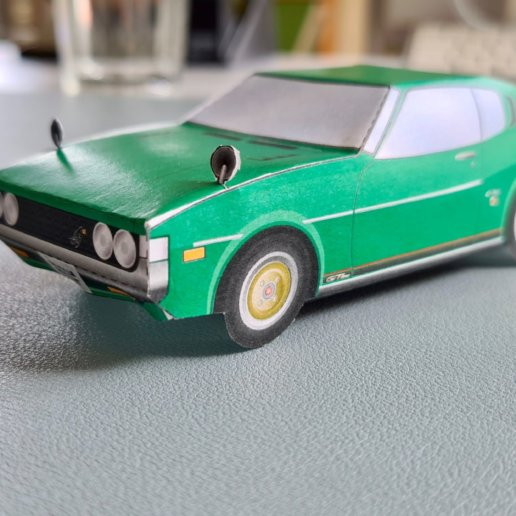 Toyota Celica Bastelset grün