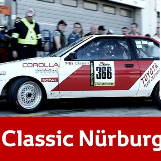 Youngtimer Classic Toyota Nürburgring