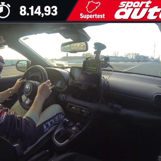 Toyota GR Yaris Nordschleife sport auto