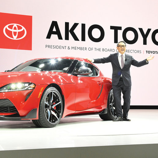 Akio Toyoda World Car Person of the Year 2021
