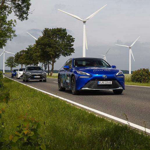 Toyota Zero Emission Tour Mirai