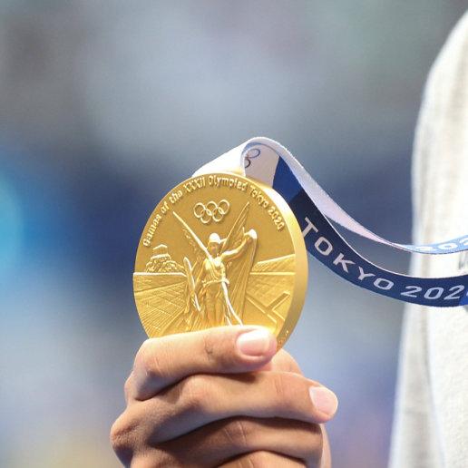 Olympische Spiele Tokio Medaille