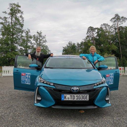 Team Toyota Deutschland siegt bei i-Mobility Rallye 2021