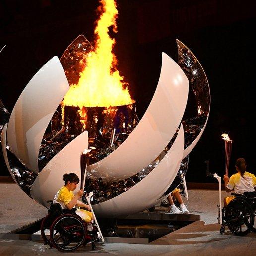 Eröffnungsfeier Paralympische Spiele 2020 in Tokio 2021