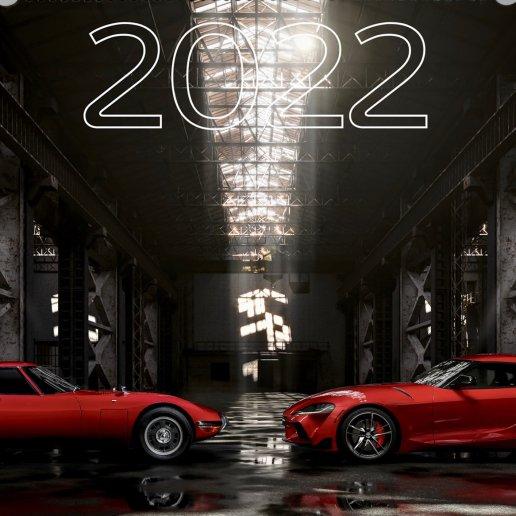 Toyota Classic Calendar 2022